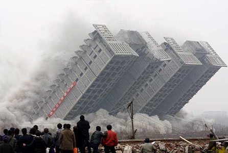 We Are Now into Controlled Demolition - Greg Hunter and Catherine Austin Fitts Video